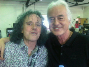 Jimmy Page and Donovan at the Royal Albert Hall